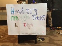 Hunters' magic tricks